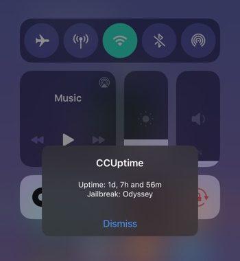 твик CCUptime