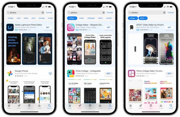 Apple App Store теги