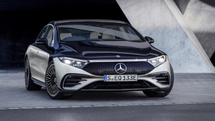 Mercedes Benz EQS 2022