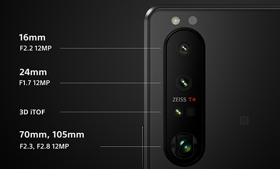 Sony Xperia 1 III камера