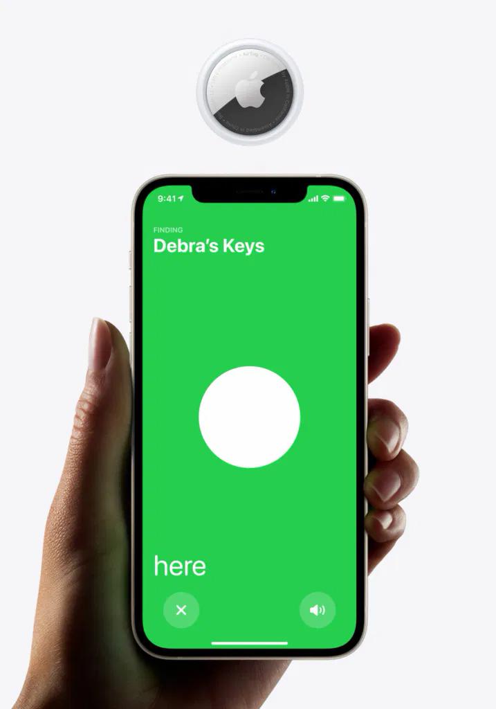 Как сбросить AirTag чтобы использовать его с другим iPhone