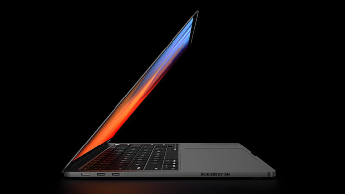 MacBook Pro 2021 рендер
