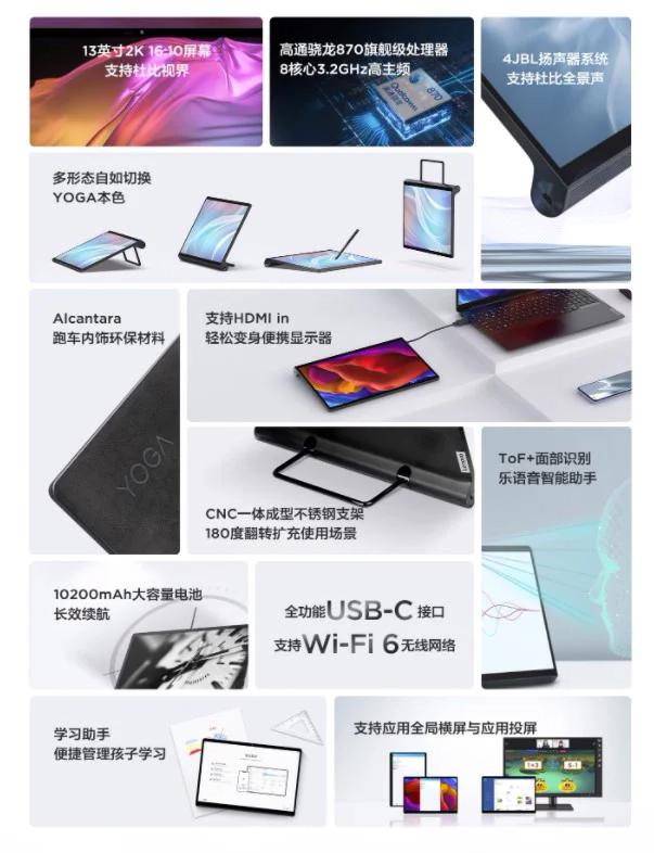 Lenovo YOGA Pad Pro характеристики