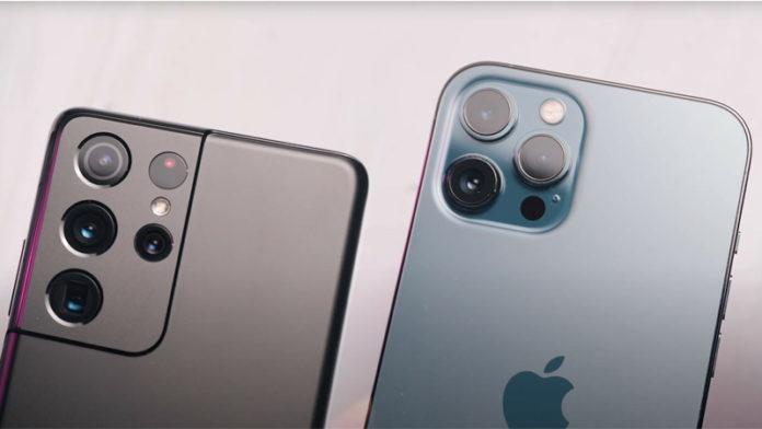 Apple iPhone 12 Pro Max vs Samsung Galaxy S21 Ultra