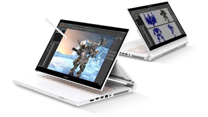 Acer представила новые ноутбуки из Swift и ConceptD