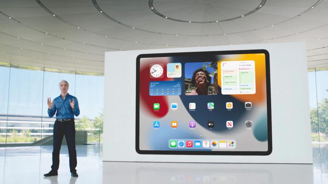 iPadOS 15 Виджеты