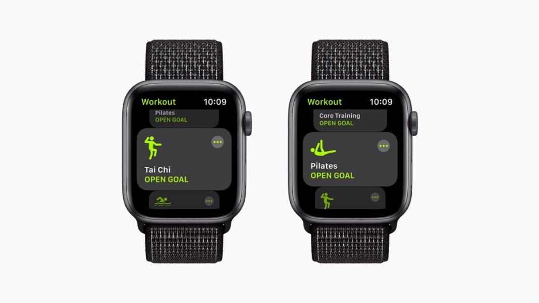 watchOS 8 фитнес