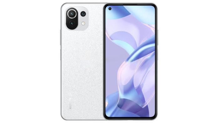 Белый вариант Xiaomi 11 Lite